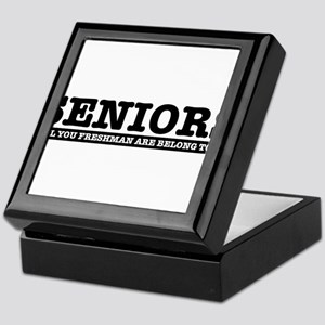 High School Senior humor Keepsake Box