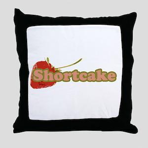 Cutie shorty Throw Pillow