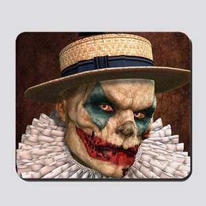 Zombie Clown Mousepad