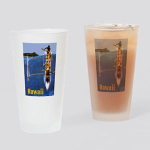 Vintage Hawaii Boat Travel Drinking Glass