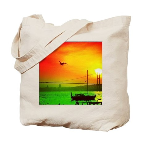 Fly Over State Tote Bag