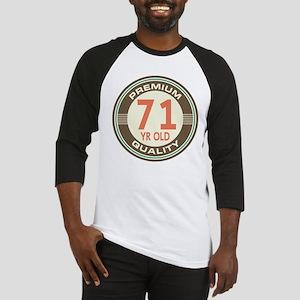 71st Birthday Vintage Baseball Jersey