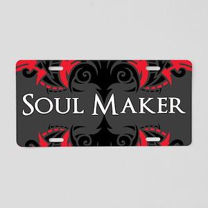 Soul Maker Aluminum License Plate
