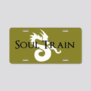 Soul Train Aluminum License Plate