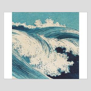 Vintage Waves Japanese Woodcut Ocean Posters