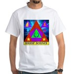 HRHSF Science Badge White T-Shirt