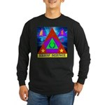 HRHSF Science Badge Long Sleeve Dark T-Shirt