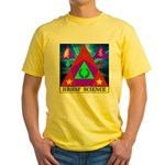 HRHSF Science Badge Yellow T-Shirt