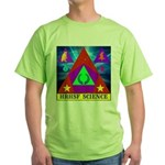 HRHSF Science Badge Green T-Shirt