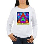 HRHSF Science Badge Women's Long Sleeve T-Shirt
