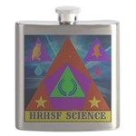 HRHSF Science Badge Flask