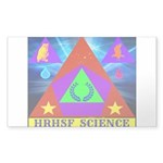 HRHSF Science Badge Sticker (Rectangle 50 pk)
