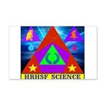HRHSF Science Badge 20x12 Wall Decal