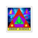 HRHSF Science Badge Square Sticker 3