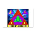 HRHSF Science Badge Car Magnet 20 x 12