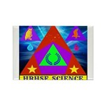 HRHSF Science Badge Rectangle Magnet (100 pack)