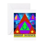 HRHSF Science Badge Greeting Card