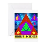 HRHSF Science Badge Greeting Cards (Pk of 10)
