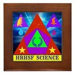 HRHSF Science Badge Framed Tile
