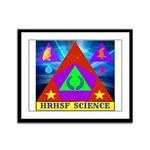 HRHSF Science Badge Framed Panel Print