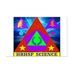 HRHSF Science Badge Mini Poster Print