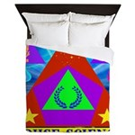 HRHSF Science Badge Queen Duvet