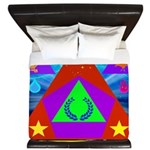 HRHSF Science Badge King Duvet