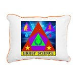 HRHSF Science Badge Rectangular Canvas Pillow