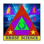 HRHSF Science Badge Tile Coaster