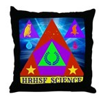 HRHSF Science Badge Throw Pillow