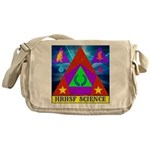 HRHSF Science Badge Messenger Bag