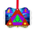 HRHSF Science Badge Picture Ornament