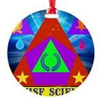 HRHSF Science Badge Round Ornament