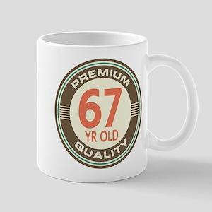 67th Birthday Vintage Mug