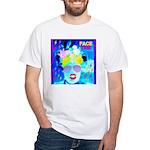 X-Ray Drag Diva SisterFace White T-Shirt