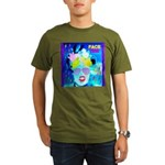 X-Ray Drag Diva SisterFace Organic Men's T-Shirt (