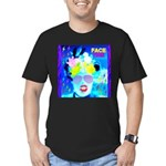 X-Ray Drag Diva SisterFace Men's Fitted T-Shirt (d