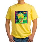 X-Ray Drag Diva SisterFace Yellow T-Shirt