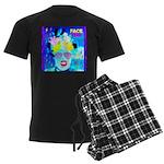 X-Ray Drag Diva SisterFace Men's Dark Pajamas