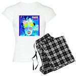 X-Ray Drag Diva SisterFace Women's Light Pajamas