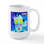 X-Ray Drag Diva SisterFace Large Mug