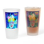 X-Ray Drag Diva SisterFace Drinking Glass