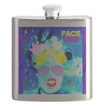 X-Ray Drag Diva SisterFace Flask