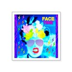 X-Ray Drag Diva SisterFace Square Sticker 3