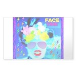 X-Ray Drag Diva SisterFace Sticker (Rectangle)