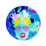 "X-Ray Drag Diva SisterFace 3.5"" Button (100 p"