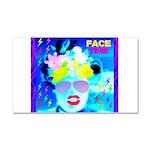 X-Ray Drag Diva SisterFace Car Magnet 20 x 12