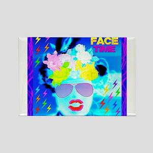 X-Ray Drag Diva SisterFace Rectangle Magnet