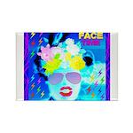 X-Ray Drag Diva SisterFace Rectangle Magnet (100 p