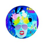 """X-Ray Drag Diva SisterFace 3.5"""" Button"""
